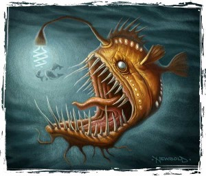 Angler Fish Goes Green-border-sm