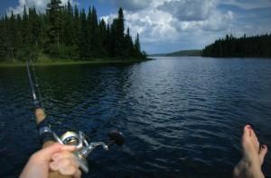 Prairie fishing Credit: Lana Gunnlaugson